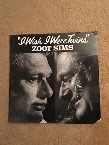ZOOT SIMS: I Wish I Were Twins LP Factory Sealed Jazz Pablo Records #2310-868