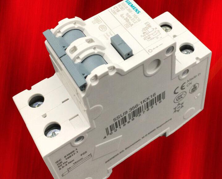1pc    Siemens  5SU9356-1KK16  1P+N 16A   circuit breaker   free shipping