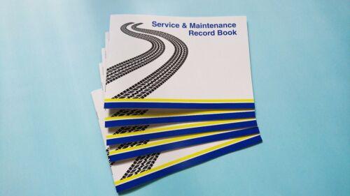 Service Book Car History Handbook Blank Mini Countryman Clubman Convertible