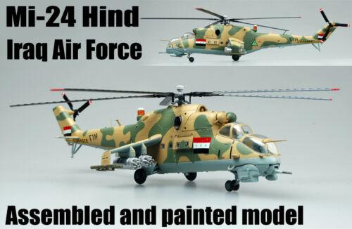 IRAK Force Aérienne Mil Mi-24 Hind HELICOPTER 1//72 no Diecast avion Easy model
