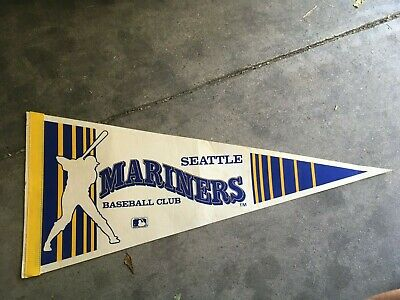 Flag Souvenir Seattle Mariners Vintage Pennant Gift Pendant Childhood Memory