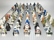 Lot of 4 RANDOM Lego Star Wars Minifigures Lot Clone Storm Troopers Commander