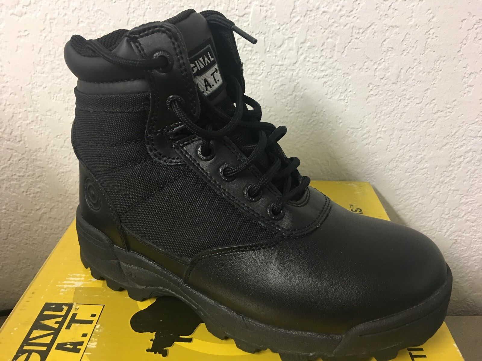 ORIGINAL SWAT TACTICAL BOOTS (BLK LEATHER, CLASSIC  6 ,WOMEN'S 6)  first-class service