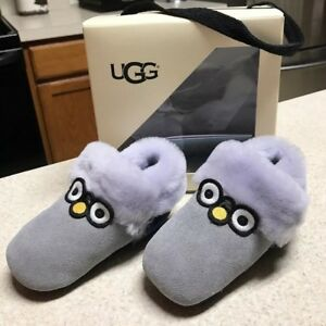 c7a0fcc7deb Details about Infant UGG Australia Zippie Baby Booties Authentic Size 2/3  6-12 Months