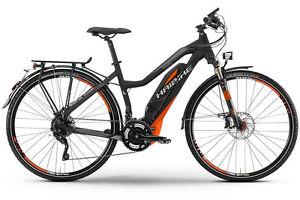 haibike damen elektro fahrrad sduro trekking s rx 45 km h. Black Bedroom Furniture Sets. Home Design Ideas