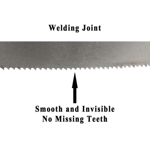 """56-3//4/"""" x 1//2/"""" x 0.025/"""" x 14tpi Band Saw Blades for Metal Imachinist 1440 mm"""