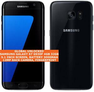 """Samsung Galaxy S7 G930F 4 Go 32 Go Octa core 5.1"""" Ecran Android 4 G LTE Smartphone"""