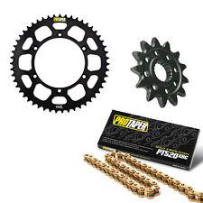 Pro Taper MX 12/51 Sprocket Kit (Black) with 520 X-Ring Chain 120L 033338&033222