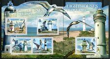 Salomoninseln 2012 Leuchttürme Lighthouse Vögel Birds Postfrisch MNH
