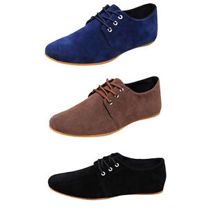 d98fe23fcbc New Fashion Men s Flats Moccasin Loafer Casual Driving Suede Slip On ...