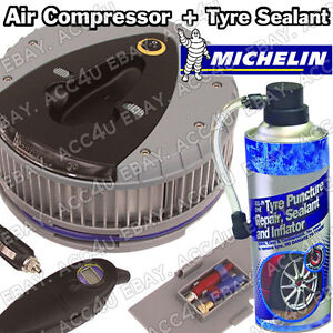 Image Is Loading Michelin 12260 12v Car Tyre Air Compressor Inflator
