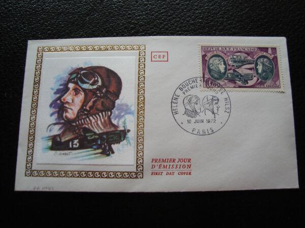 FRANCE - envelope 1st day 10/6/1972 (hélène boucher/maryze hilsz) (cy80)french