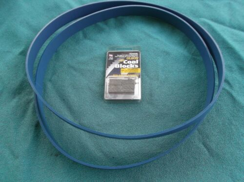 BLUE MAX HEAVY DUTY BAND SAW TIRES FOR BUFFALO BP-VBS-14 SAW OLSON COOL BLOCKS