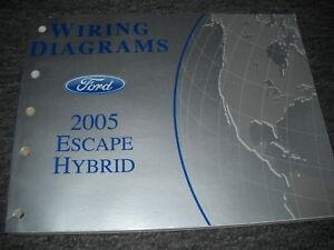 2005 Ford Escape Mercury Mariner Hybrid Models Electrical ...