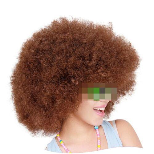 Huge Big Afro Black Wig 60s-70s Fancy Dress Costume Adult Mens Ladies Disco Wig