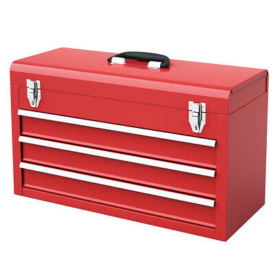 Portable Tool Chest Box Storage Cabinet Garage Mechanic ...