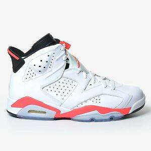 premium selection 4f82f 2b7eb Image is loading Air-Jordan-6-Retro-White-Infrared-Black-2014-