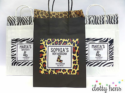 HEN DO PARTY GIFT BAG personalised /& Pre filled 10 ITEMS! Hen games