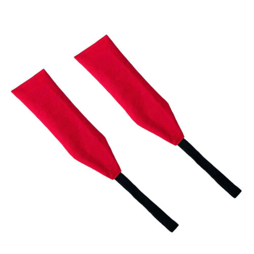 2Pcs Oxford Safety Travel Flag Tow Flag Long Load Flag for Kayak Canoes and