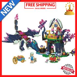 Elves Dragon Rosalyn/'s Healing Hideout fit Legos Building Blocks kids Toys xmas