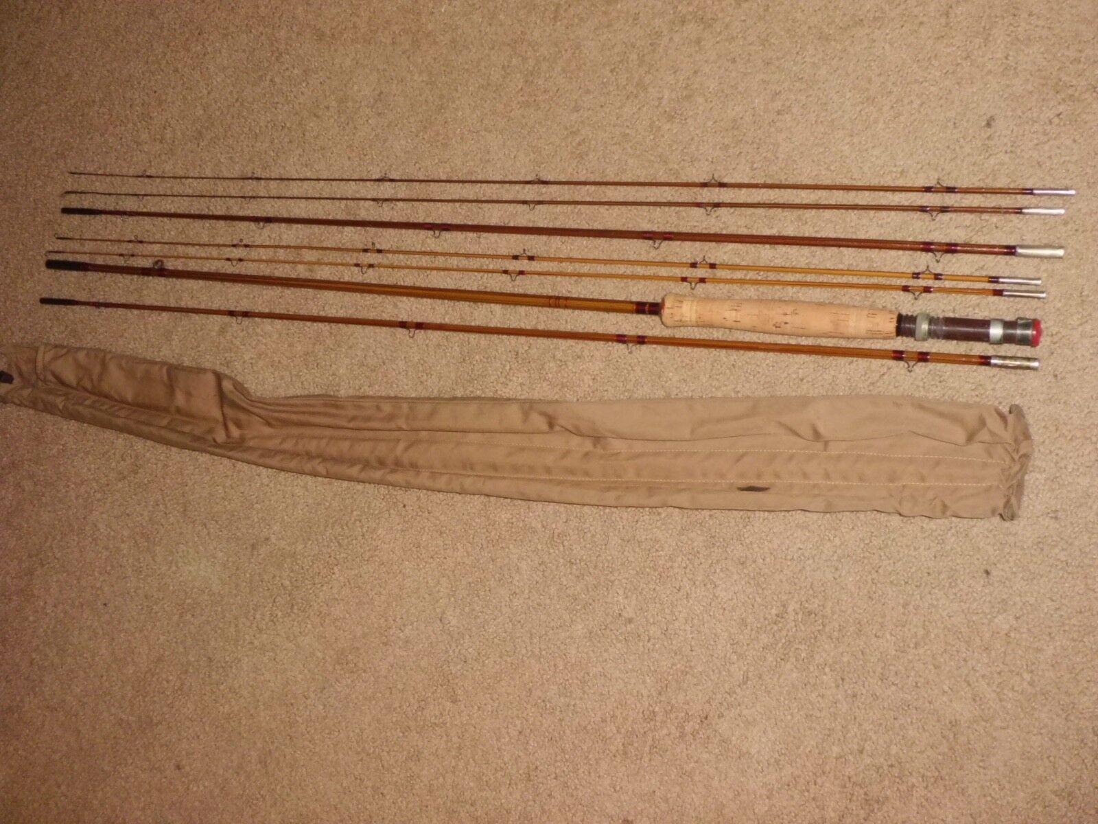 Siete piezas antiguas de heddon pal Fly Steel 9.