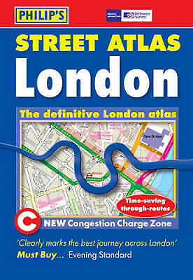 Philip's Street Atlas: London Pocket (Pocket Street Atlas), , Very Good Book