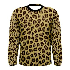 New-leopard-skin-pattern-Sublimated-Men-039-s-Long-Sleeve-T-shirt-S-M-L-XL-2XL-3xl
