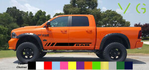 Dodge-Ram-Vinyl-Decal-Sticker-Graphics-Sport-Side-Door-x2-ANY-COLOR-033