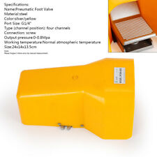 Pneumatics 2 Position Foot Pedal Air Control Valve 14 Nptprotective Shield Us