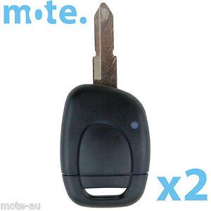 Renault Remote Car Key Uncut Blank 1 Button Replacement Shell//Case//Enclosure