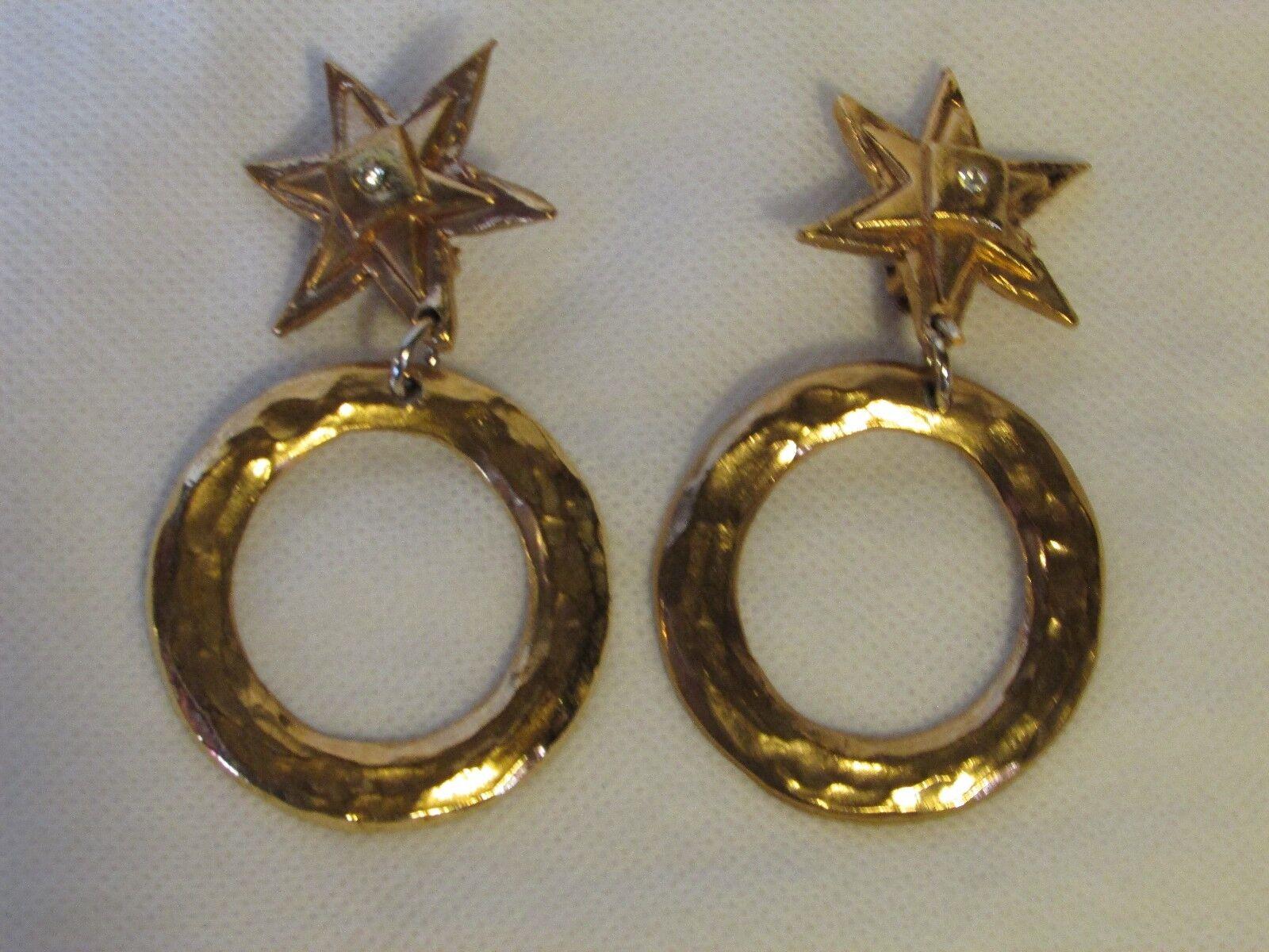 Boucles d'oreilles  vintage VIVA PAQUITA
