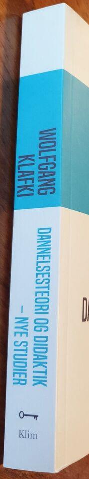 Dannelsesteori og didaktik - nye studier, Wolfgang