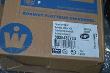 "WISA 8035432783 FÜLLVENTIL UNIVERSAL 3/8"" NL/F FLOAT VALVE NEGOCE SIDEINLET NEU"