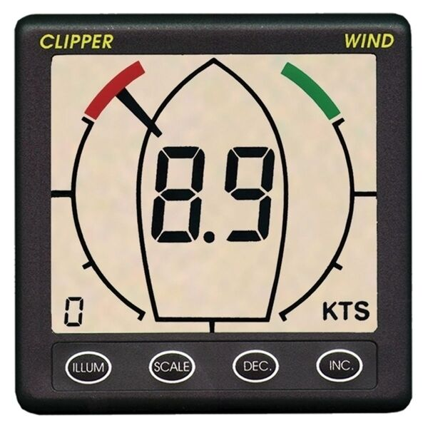 Nasa Clipper Wind mit Windmesser Geber 12VDC Stiefel Yacht SegelStiefel