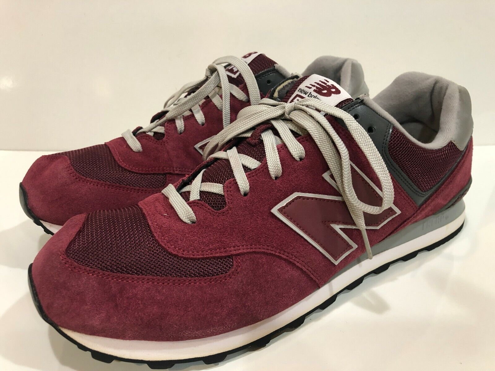 New Balance 574 Men's Athletic Walking Shoes Size 18 D