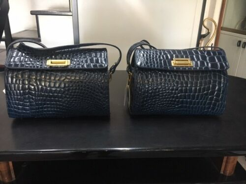 Sac Femme Blue Sacs Bauletti Crocodile Bag Bidente Sac Sac Crocodile VpqUzMS