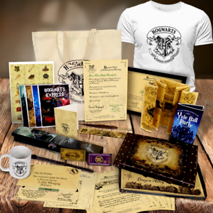 Personalised-Harry-Potter-Set-Gifts-Tshirt-Mug-Wand-Quill-Bag-Letter-Christmas
