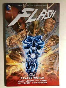 THE-FLASH-volume-7-Savage-World-2016-DC-Comics-TPB-1st-FINE