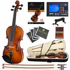 Cecilio CVN-300 Ebony Fitted Violin 4/4 3/4 1/2 1/4 1/8