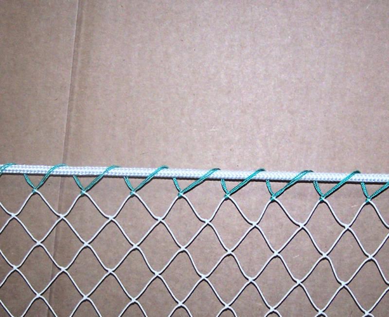 40' x 25' nylon net avec 5 16' Haut Corde Bordure 1  -  7