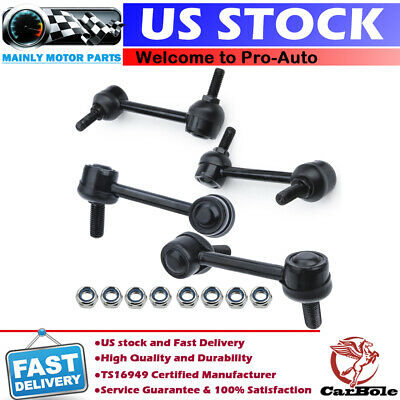 4pc Front /& Rear Sway Bar End Links For 2003 2006 2005 2006 2007 Cadillac CTS