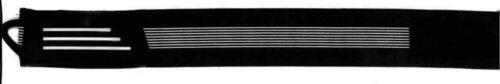 Bicycle Clip Bike Cycle Trouser Band Elastic Velcro Fix Plain Black