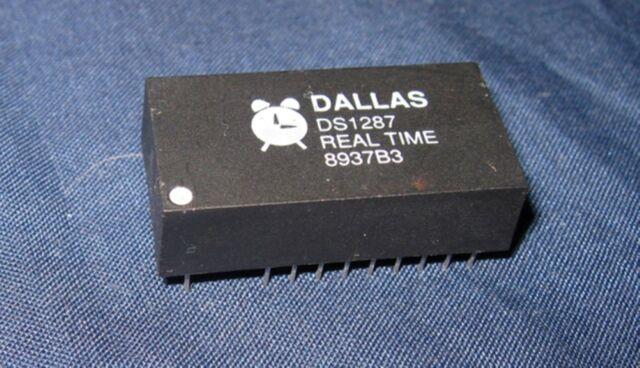 2PCS DS1287 DIP-18 Real Time Clock