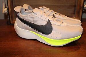 Nike Moon Racer String Black Sail Volt Tan Lifestyle Shoes AQ4121-200 Multi Size