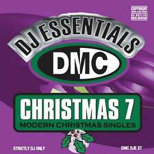DMC DJ Essentials Christmas 7 - Modern Xmas Singles - Rare & Collectable