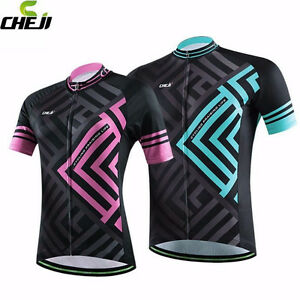 e46fd0426e9 CHEJI Maze Cycling Jerseys Mountain Bike Bicycle MTB Jersey Couple ...