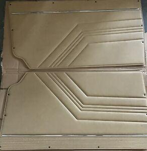 Alfa Romeo GTV 2000 Inner Door Trim Panels (Beige) - Pair
