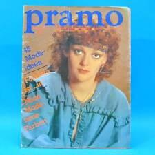 Pramo 8/1982 Praktische Mode Schnittmuster U Folklore Westen Jacken Hose Kinder