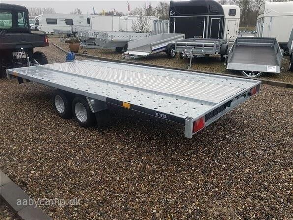 Trailer Carkeeper New 4020 S 3000 kg Lukket bund, lastevne