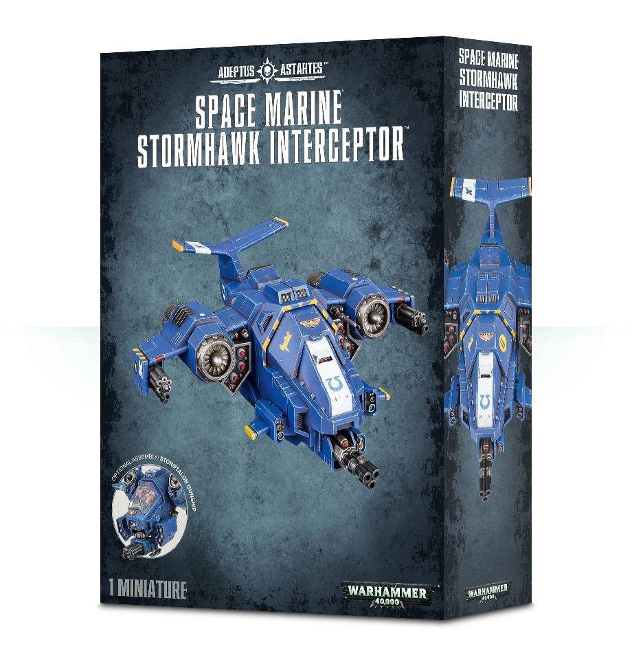 Warhammer 40.000  space marine stormhawk interceptor gw 48-42 nib